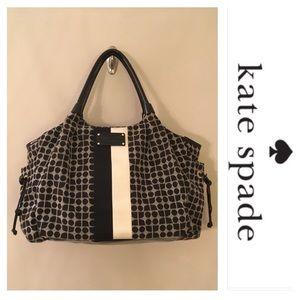 Kate Spade STEVIE Baby Bag Classic Noel Blk White